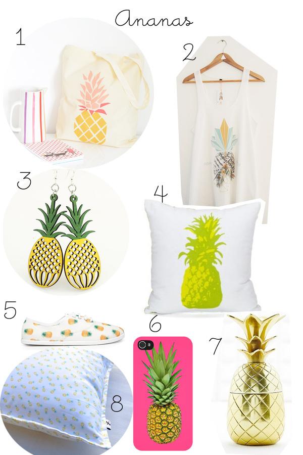 tendance ananas