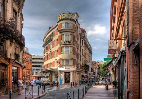 hotel ours blanc wilson toulouse