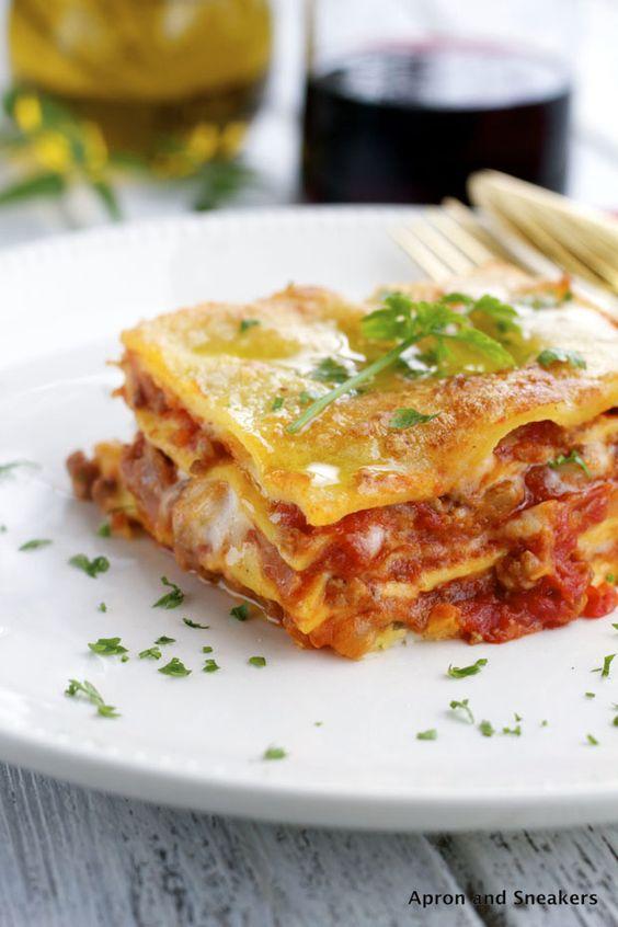 lasagnes comfort food