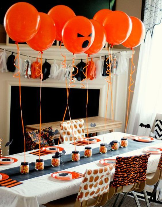 déco table halloween