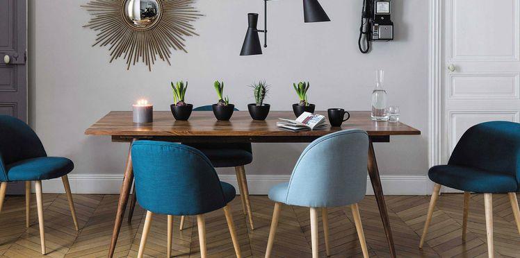deco 5 id es pour donner un coup de jeune la salle manger le so girly blog. Black Bedroom Furniture Sets. Home Design Ideas