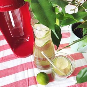 La boisson parfaite pour cet été avec ma Sodastream Spirit !