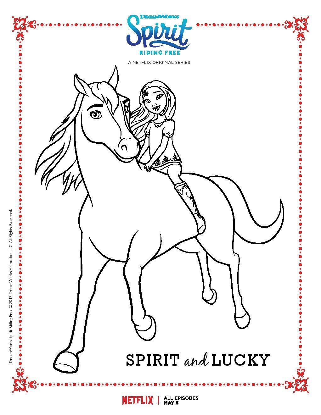 Disegni da colorare spirit free riding sogni d 39 oro for Disegni e piani di coperta