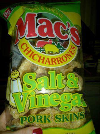I Try It So You Dont Have To Macs Salt and Vinegar Pork Skins  So Good Blog