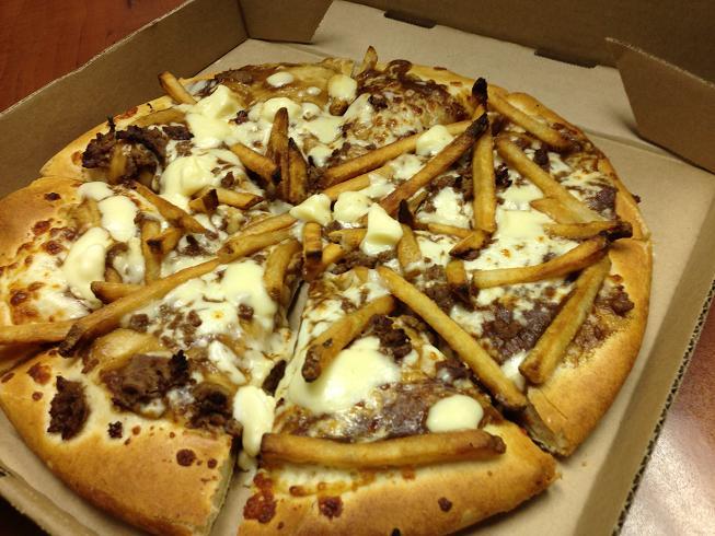 Quick Bite Pizza Huts Cheesy Beef Poutine Pizza  So