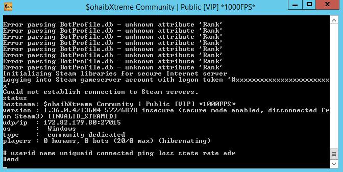 Counter-Strike Global Offensive Window Server Download [ 2k17