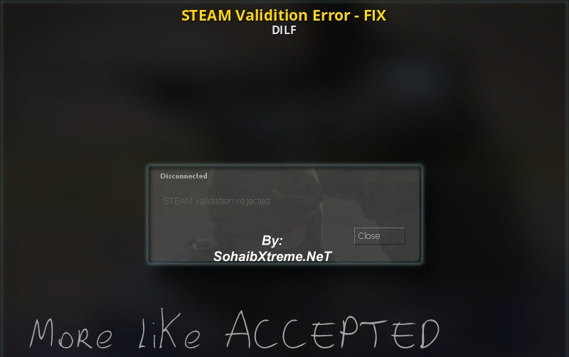Counter-Strike Source Steam Validation Rejected Fix Linux