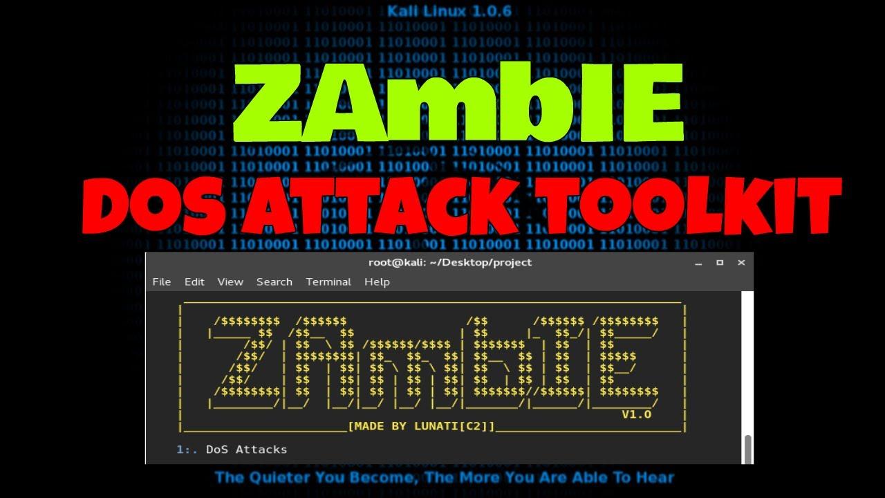 How To Attack Zambie DDoS On Server Via Kali Linux [ 2k17
