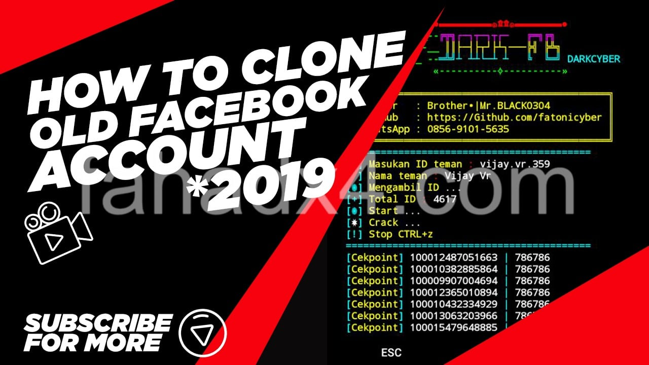 How To Clone Old Facebook Account Or Hack Friends Account Trick [2k20]