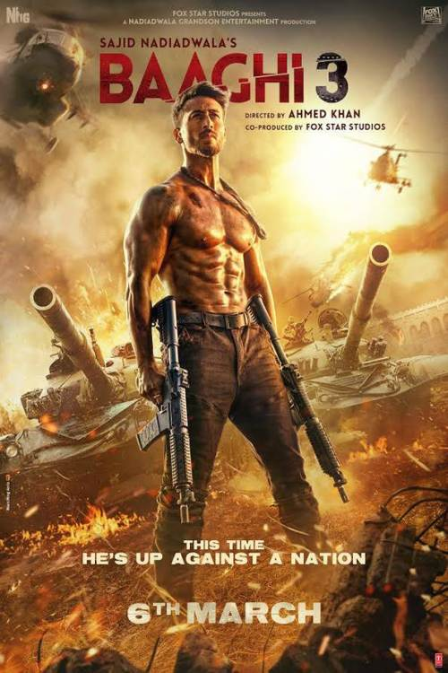Watch Baaghi 3 (2020) Movie Full HD [ Download ]
