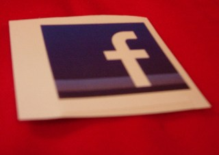 Facebook Logo sticker