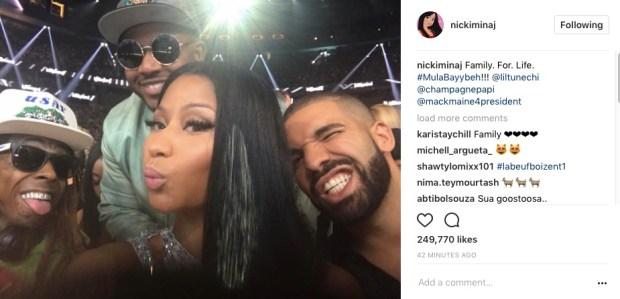 Screen Shot 2017 05 21 at 9.55.35 PM - Baby Reunite & Nicki Minaj , Lil Wayne's Cash Money Woes Lessening?