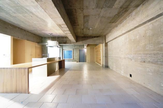 ヴィラヴィスタ102号室玄関を臨む|SOHO東京
