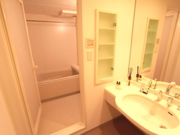 レガリア都立大103号室バスルーム|SOHO東京