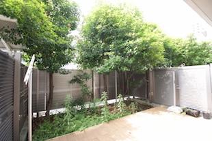 【募集終了】参宮橋のSOHO、ウッドデッキと専用庭と共に