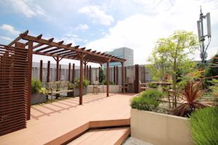 【募集終了】幡ヶ谷、5m以上の天井高と屋上庭園のあるオフィス