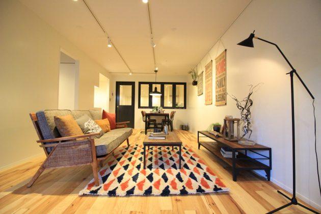 【募集終了】豊島区。ブルックリンスタイルの無垢床リノベ。