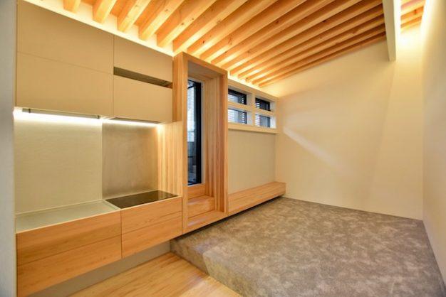 【賃料変更】参宮橋7分。光と緑を詰め込んだ木箱