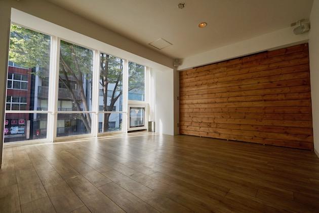 【募集終了】渋谷区道玄坂。木の質感を生かした居抜き空間。