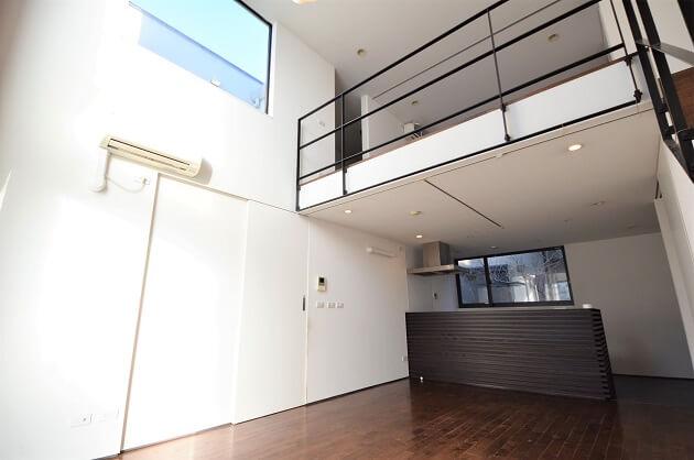 【募集終了】杉並区大宮。採光豊かな天井高5mデザイナーズメゾネット。
