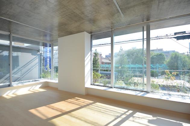 【募集終了】不動前。新築デザイナーズ、開放的なパークフロント。