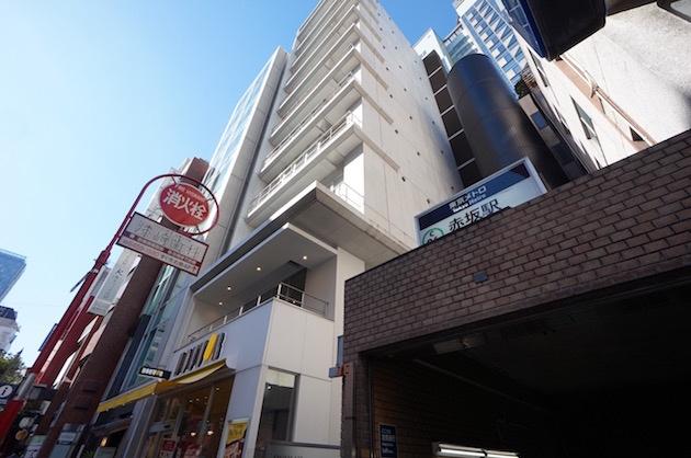 【募集終了】赤坂駅すぐ。街の中心で勤しむ。