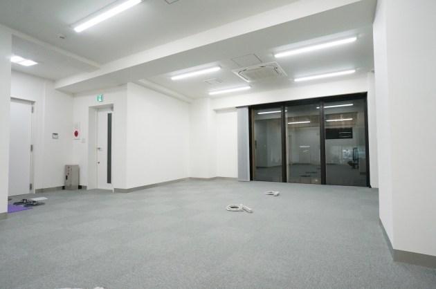 渋谷・神宮前エリア。キャットストリート沿いの新築オフィス。