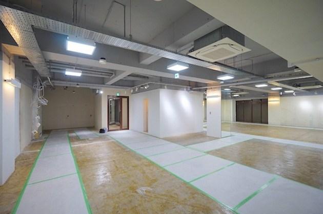 【募集終了】新宿区余丁町。250㎡越えの大規模地下空間。