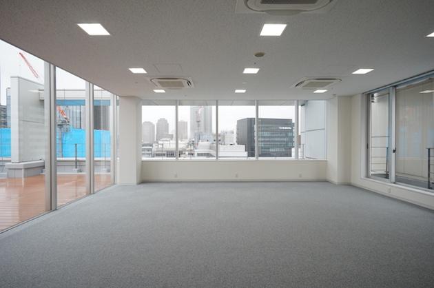 恵比寿駅5分。最上階12階のバルコニー付きワンフロアプレミアムオフィス。