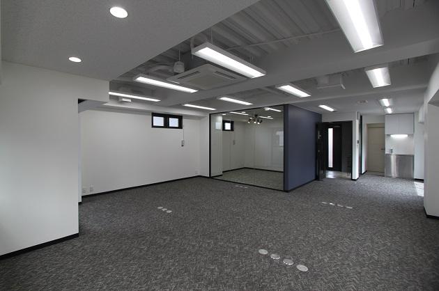 八丁堀駅2分、リニューアルされたばかりのワンフロアオフィス。