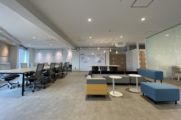目黒不動前、敷礼0、充実サポートの内装・家具付きオフィス