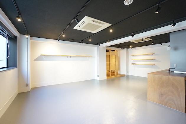 田町・三田エリア、カウンターキッチン付きリノベオフィス