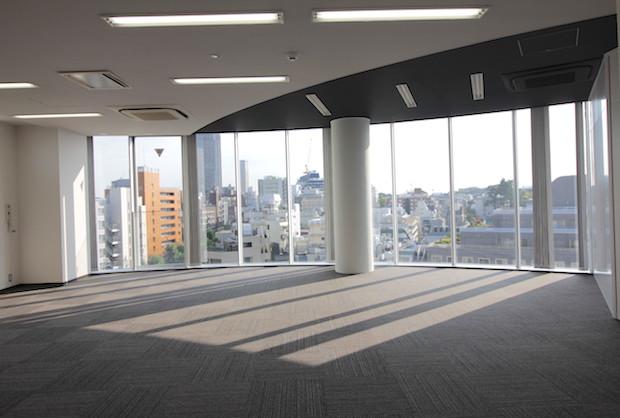 渋谷駅徒歩3分。最上階ワンフロアを独占して<p>[渋谷区/91万/101㎡]