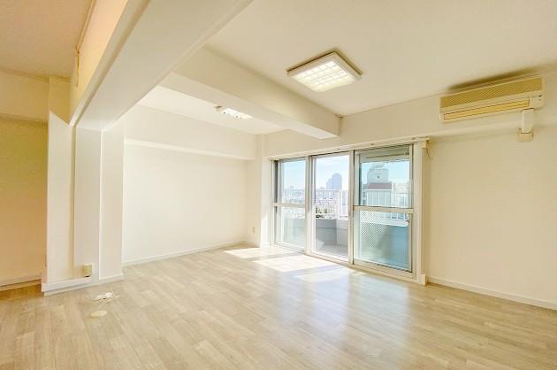 渋谷南平台。実用性に優れたヴィンテージマンションの一室で<p>[渋谷区/18万/63㎡]