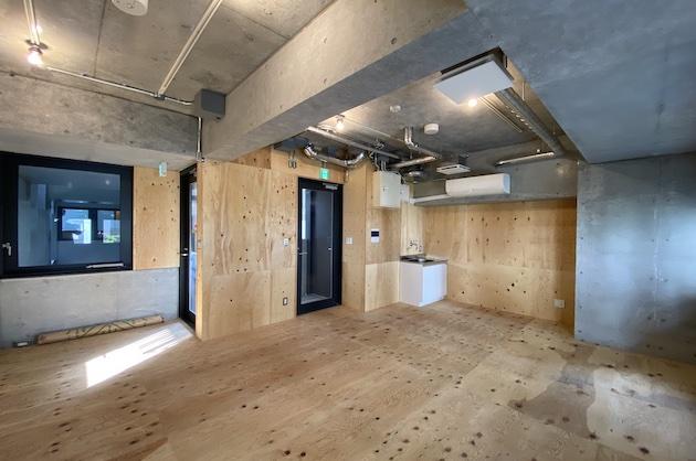 【募集終了】渋谷桜丘町、RCと下地材で構成したシンプルな新築デザイナーズ