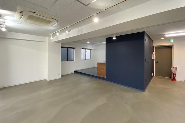 【募集終了】恵比寿。モルタル床最上階デザインオフィス