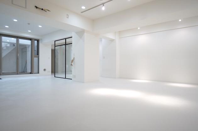 代官山。存分な白が広がるワンフロア空間<p>[渋谷区/55万/92㎡]