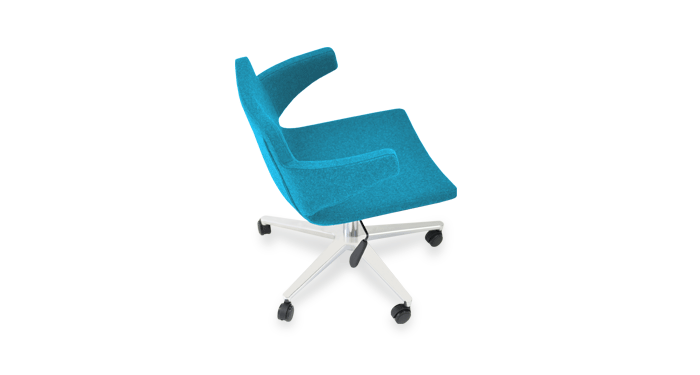 desk chair turquoise patio swivel replacement parts office chairs modern furniture sohoconcept nevada arm
