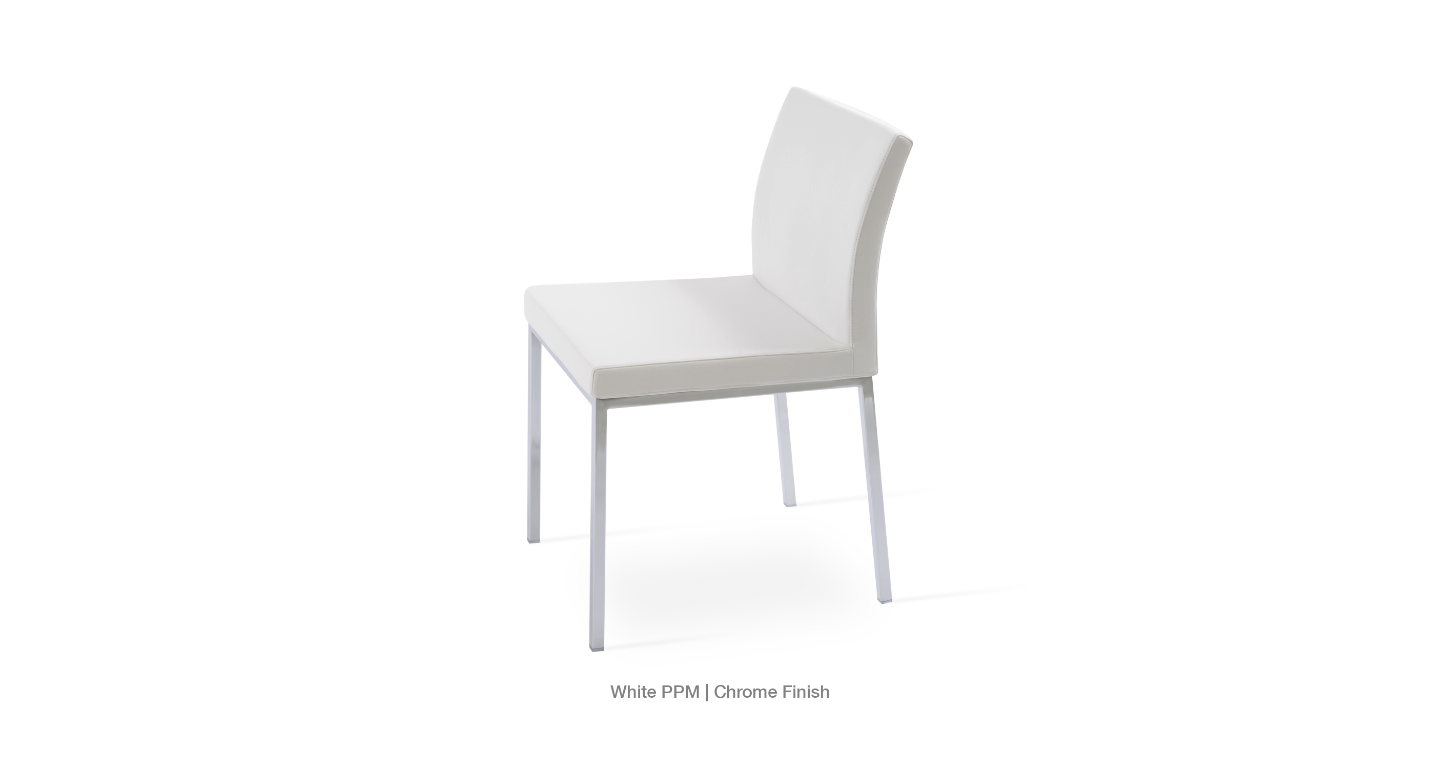 white metal chairs folding chair brands modern dining aria by sohoconcept ppm