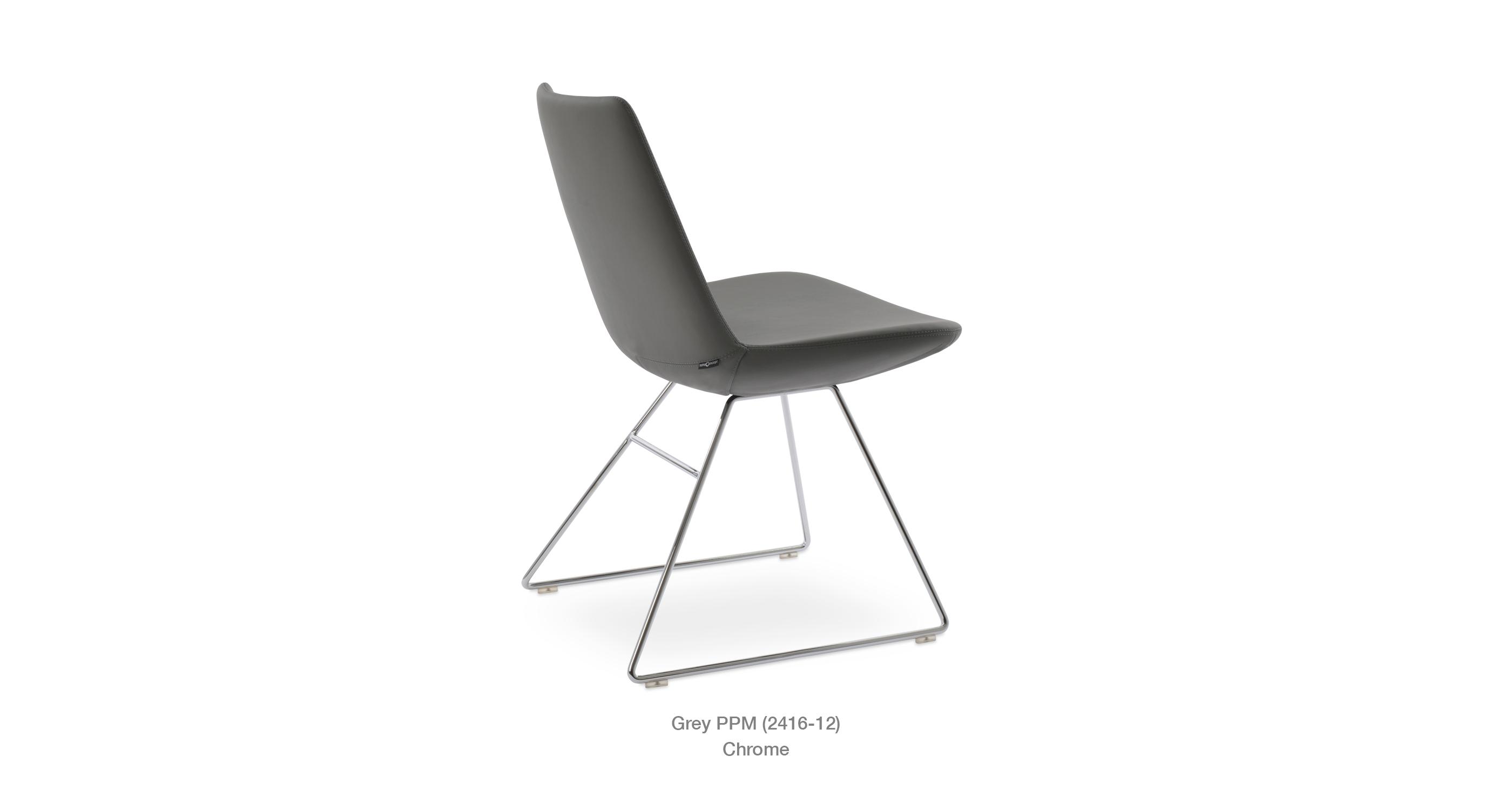 easy chair nadir steel chrome down filled eiffel wire modern restaurant sohoconcept