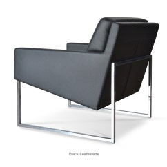 Easy Chair Nadir Steel Chrome Dining Room Covers Au Nova Metal Contemporary Occasional Chairs Sohoconcept