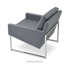 Easy Chair Nadir Steel Chrome Fishing Fighting Bar Stools Nova Metal Contemporary Occasional Chairs Sohoconcept