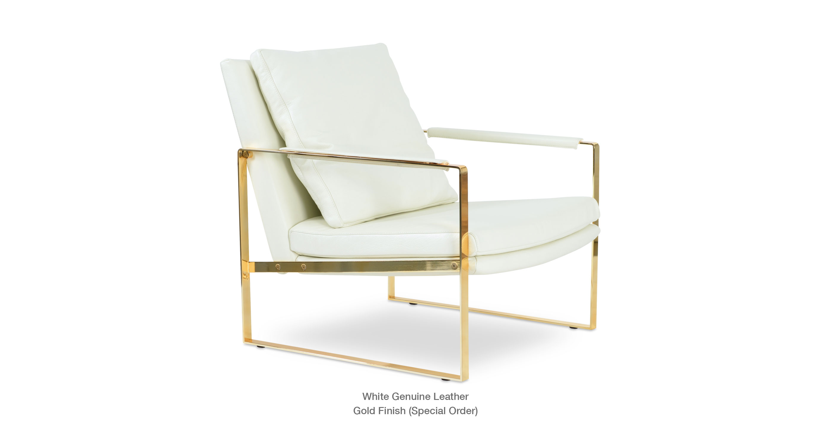white and gold chair reclining with ottoman outdoor zara contemporary occasional armchairs sohoconcept leather