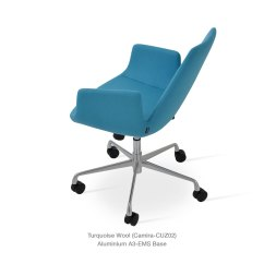 Turquoise Office Chair Potterybarn Dining Chairs Eiffel Arm Contemporary Sohoconcept Camira