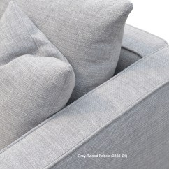 Grey Tweed Sectional Sofa Reclining And Loveseat Covers California Contemporary Sofas Sohoconcept Fabric Greybrick