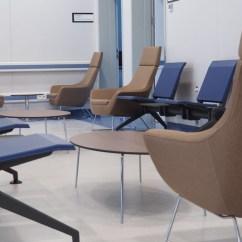 Zara Swivel Chair Small Folding Papasan Heathcare Facilities - Sohoconcept