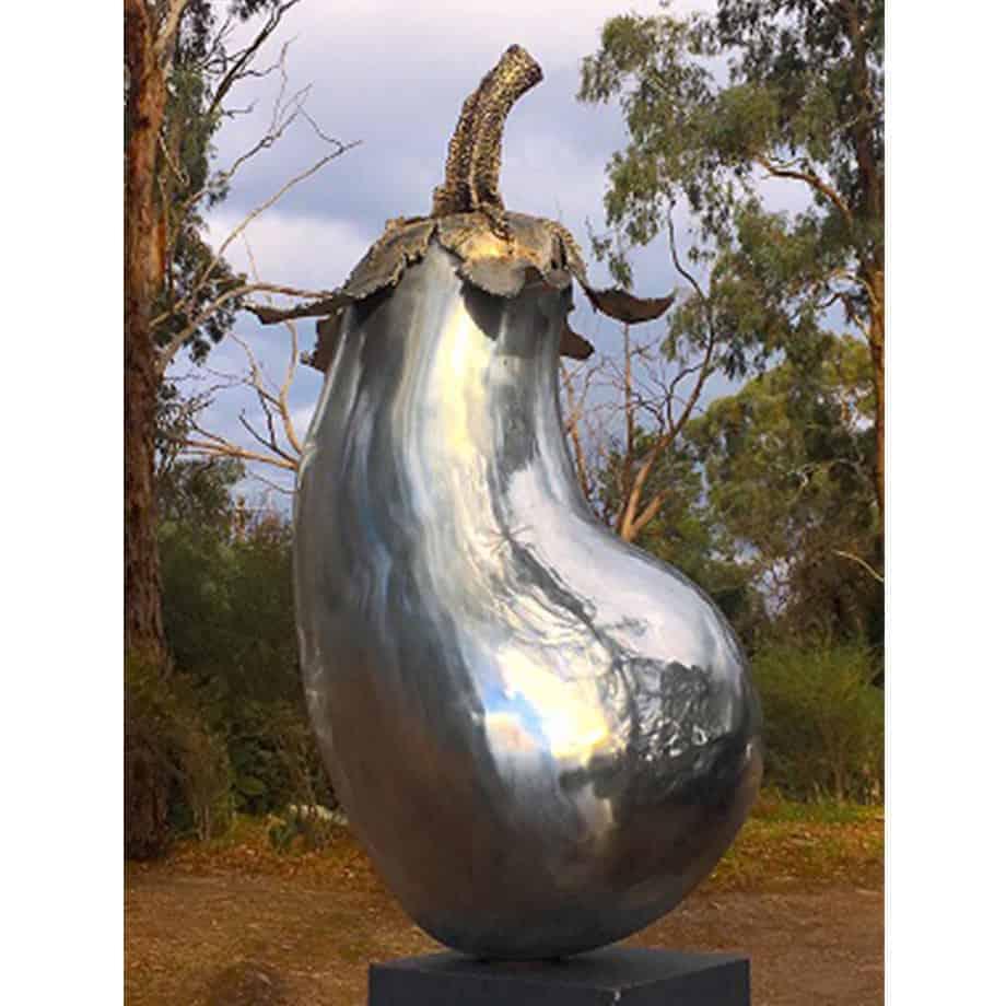 Emoji-II-140cm-ALUMINIUM-STAINLESS-STEEL-freestandingoutdoor-aldo-bilotta-australian-sculpture-1.jpg