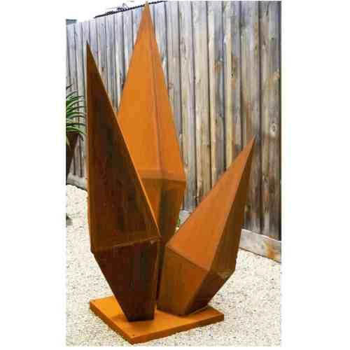 Crystals-180x90cm--CORTEN-[Corten,-outdoor,]Pierre-Le-Roux-australian--sculpture-outdoor-drive-way-entry-art-garden-cubes