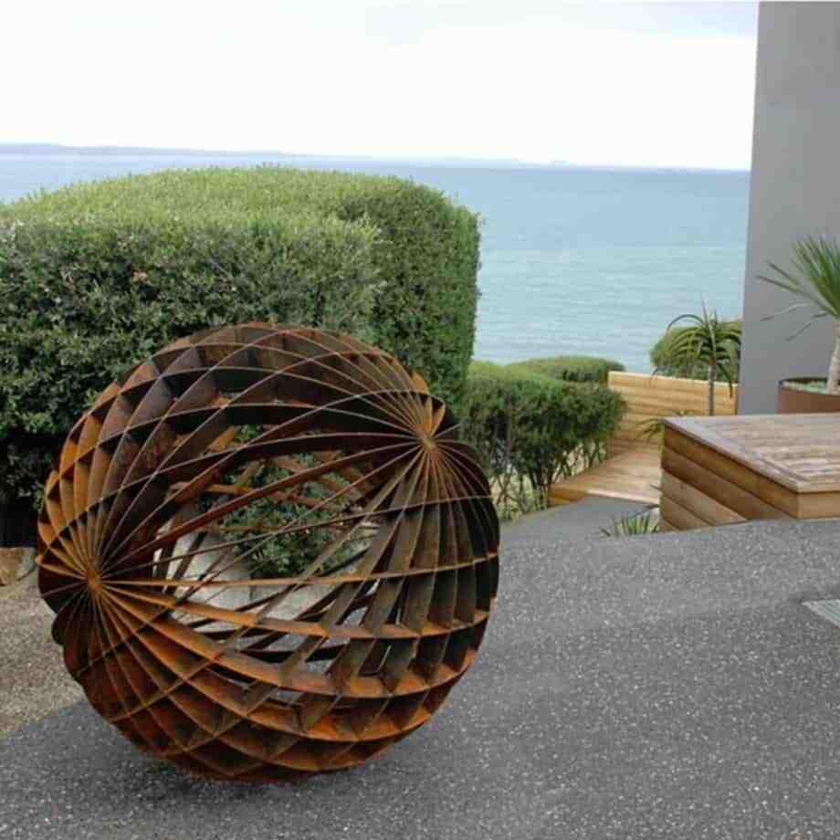 Duel-Axis-120cm--CORTEN-STEEL-[corten,outdoor]]paul-mutimer-garden-sculpture-out-door-garden-sphere-art