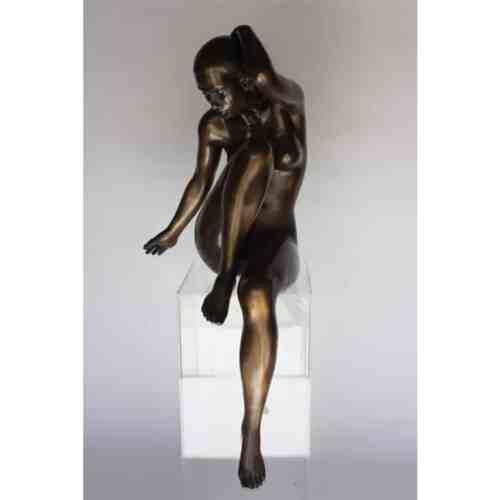 Reflections-1.5m-BRONZE-[bronze,figurative,free-standing,figurative]-phillip-piperidis-nude-sculpture-australian-artist-female-body